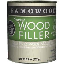 FAMOWOOD Solvent-Based Original Wood Filler - 36021122 Mahogany - 1 Pint