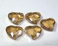 """A forma di cuore avrebbe placcare perle di vetro, """"PESCA"""""""