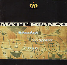 Matt Bianco Samba in Your.. Japan CD 10 Tracks No Obi Latin Pop Cuban Dance Jazz