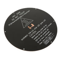 3D Printer 220x220x3mm Round Aluminum Board Heatbed Heat Bed 12V 24V