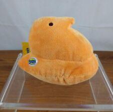 Orange Peeps Peep Plush Just Born Toy Easter Chick Stuffed Animal Bean Bag Cute