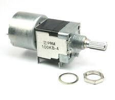 PRM Dual  Linear Motorized Potentiometer 100K Ohm Taper, 5vdc Motor