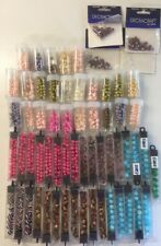 62 Packs Of Mixed Beads - Bargain Price - New Unused