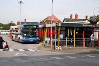 PHOTO  ASHTON-UNDER-LYNE BUS STATION MUNICIPAL TRANSPORT IN ASHTON STARTED WITH