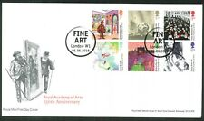 2018 FDC - Royal Academy of Arts 250th Ann.- Fine Art, London W1 Pmk