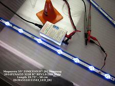 """Magnavox 55"""" 55ME314V/F7 [B] Samsung 2014FUNAI55 3228 B7 REV1.0 LED Strip Length"""