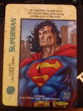 DC Overpower Superman Earth's Greatest Hero NrMint-Mint Card