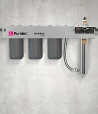 Puretec HYBRID-R10 Whole House Triple Filter and UV System 75lpm