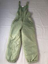 "Vintage 80's Ladies Quality Green Salopettes SZ EU 40 Waist 28/30"" #549"