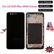 For LG MP260 VS501 TP260 K20 Plus LCD Touch Screen Digitizer Replacement+Frame