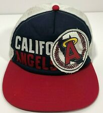 California Angels American Needle Cooperstown Snapback Trucker Hat Stitched Logo