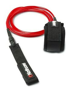 6mm Surfboard Leash 6'0'' (Red)