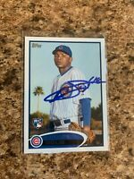 Rafael Dolis Signed 2012 Topps Auto Chicago Cubs