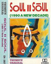 Soul II Soul Vol. II 1990 New Decade CASSETTE ALBUM THOMSUN ORIGINAL Jazzdance