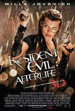 RESIDENT EVIL: AFTERLIFE Movie POSTER 27x40 C Milla Jovovich Ali Larter