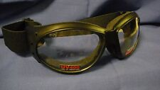 ELIMINATOR Goggles - biker motorcycle sports cycling - Clear lens