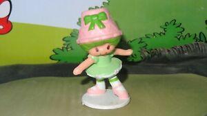 "Strawberry Shortcake Lime Chiffon Dancing Rare Vintage Figurine 2"" PVC Miniature"