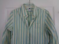 Gap Stretch Striped Women's Top Shirt Long Sleeve Button Down Size Medium