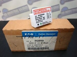 CUTLER-HAMMER (NEW in BOX) RP6D06A060 CCCCC DT III DS Digitrip RATED PLUG 600A