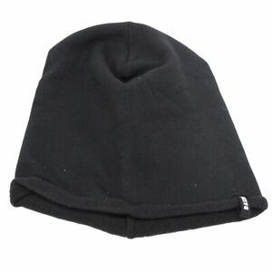 Cappello Uomo Rasta Cuffia Berretto Zuccotto Basile Senza Risvolto Cotone Nero