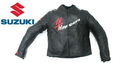 SUZUKI GSXR Motorbike/Motorcycle Leather Jacket Biker Racing Leather Jackets XL