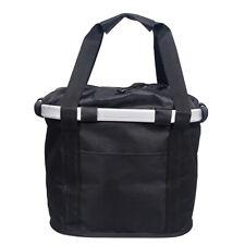 Bicycle Front Basket Bike Handlebar Basket Pet Carrier Frame Bag Durable
