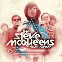 THE STEVE MCQUEENS Seamonster (2015) 10-track CD album NEW/UNPLAYED