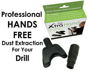The XtraHand by DrillBuddy The Ultimate Dust Extraction for Drilling (See Video)