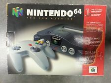 Nintendo 64 NUS-001 (USA) with Box Bundle Console, Controllers & Games and MORE