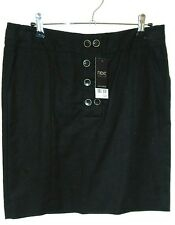 NEXT Ladies Linen Blend Skirt Size 10
