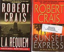 Complete Set Series - Lot of 16 Elvis Cole Books by Robert Crais (Crime Fiction)