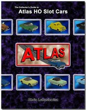 COLLECTOR'S GUIDE FOR ATLAS HO SLOT CARS with MARUSAN and LEDY