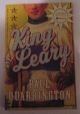 King Leary by Paul Quarrington (2007, Paperback) hockey legend