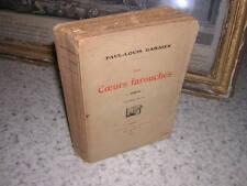 1913.les coeurs farouches / Paul-Louis garnier