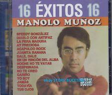 Manolo Munoz 16 Exitos CD New Nuevo sealed