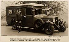 Maidstone. Keg Meg Ambulance of St John Ambulance Brigade & Kousin Mac.