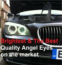 BMW 7 SERIES F01 / F02 Xenon White LED Angel Eyes Rings Marker Kit - 20W H8