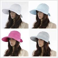 Summer Fashion Women beach Sun hat UV cycling caps Adjustable Visors
