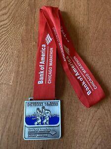 Very Rare Chicago Marathon 2008 Race Running Medal Bank Of America 26.2 Miles
