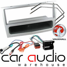 Vauxhall Corsa D 2005 On Complete Car Stereo Facia + Wiring Fitting Kit Silver