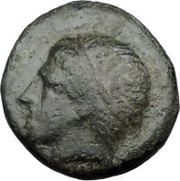 Philip II Alexander the Great Dad OLYMPIC GAMES Ancient Greek Coin Horse i31497