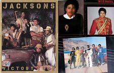 Michael Jackson Programme Jacksons VICTORY TOUR Program GIANT 1984