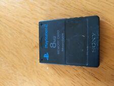 PlayStation 2 8 MB Memory Card free shipping