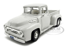 1956 FORD F-100 PICKUP TRUCK WHITE 1:24 DIECAST MODEL CAR BY MOTORMAX 73235
