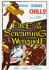 Face of the Screaming Werewolf [New DVD]