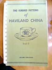 ARLENE SCHLEIGER Haviland China Illustrated PATTERN IDENTIFICATION Book 2 1970