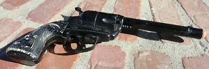 Rare Vintage Black Fanner 50 by Mattel Cap gun