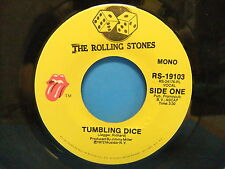 The Rolling Stones Tumbling Dice / Sweet Black Angel 1972 VG+ Mono 45 RS 19103
