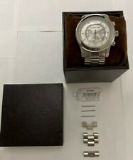 Michael Kors Oversized Runway MK8086 Wrist Watch for Men 45mm - Gently Used