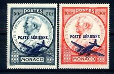 MONACO - PA - 1946 - Francobolli del 1946 sovrastampati